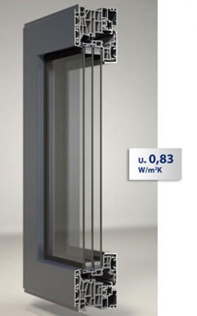 Anta Nova-line – FIN-Project per finestre in alluminio – 01