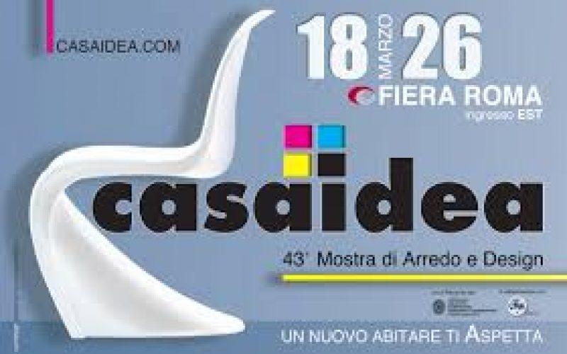 Casaidea 2017: Lady Porta sarà presente alla Fiera di Roma, dal 18 ale 26 marzo 2017