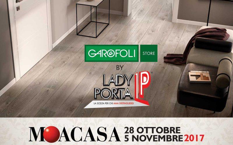 Lady Porta a Moa Casa 2017 con l'offerta Parquet Gidea