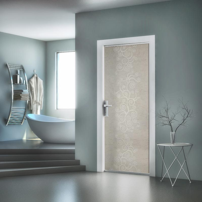 porte in vetro cristal line lady porta