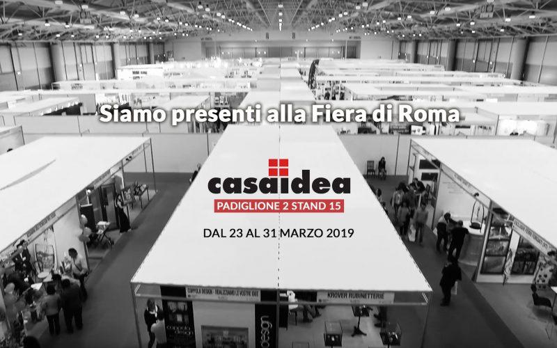 Casaidea 2019: dal 23 al 31 Marzo alla Fiera di Roma