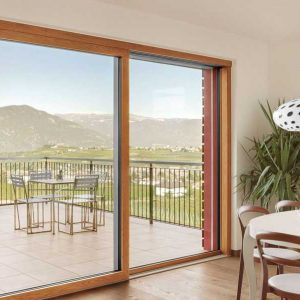 Finestra in PVC Legno Finstral Classic-line KAB