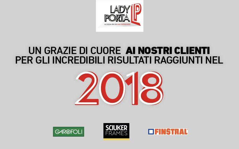 Lady Porta rivenditore in Italia per i marchi Garofoli, Sciuker Frames e Finstral