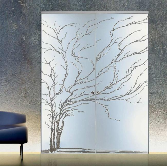 Porte da interno in vetro Casali Albero