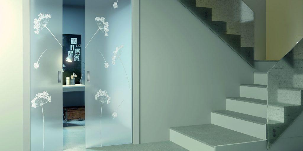 Porta in Vetro Cristal Design Collection